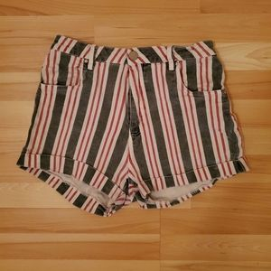 Cotton On | Striped Shorts with Deep Pockets
